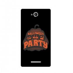 """Чехол для Sony с принтом """"Halloween party"""""""