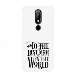 """Чехол для Nokia с принтом """"Best mom"""""""
