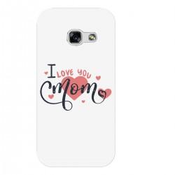 """Чехол для Samsung с принтом """"I love you mom"""""""
