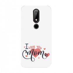 "Чехол для Nokia с принтом ""I love you mom"""