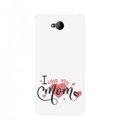 """Чехол для Microsoft с принтом """"I love you mom"""""""