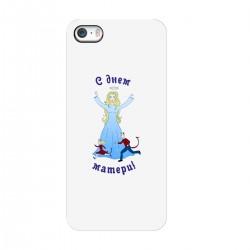 """Чехол для Apple iPhone с принтом """"День матери-3"""""""