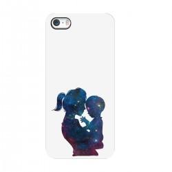"""Чехол для Apple iPhone с принтом """"Мама с ребенком-2"""""""