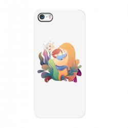 """Чехол для Apple iPhone с принтом """"Материнская любовь"""""""