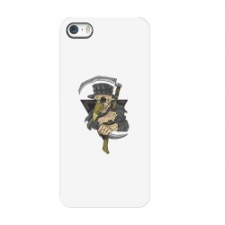 """Чехол для Apple iPhone с принтом """"Чумной доктор-2"""""""