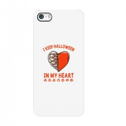 "Чехол для Apple iPhone с принтом ""Сердце Хэллоуина"""