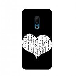 """Чехол для Meizu с принтом """"Сердце со стрелками-3"""""""