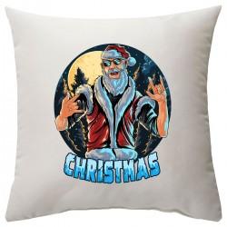 """Подушка с принтом """"Санта хой!"""""""