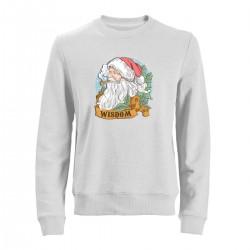 """Свитшот с принтом """"Мудрый Санта"""""""