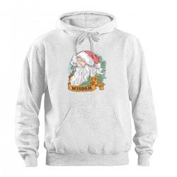"""Толстовка с принтом """"Мудрый Санта"""""""