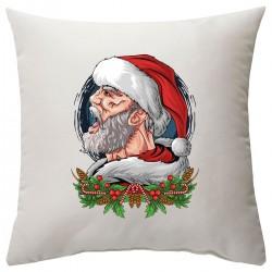 """Подушка с принтом """"Mr. Santa"""""""