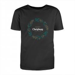 """Футболка с принтом """"Christmas and happy new year!"""""""