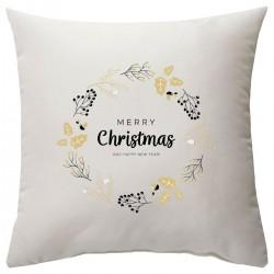 """Подушка с принтом """"Mery Christmas"""""""