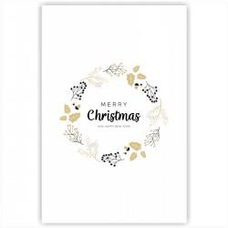 "Холст с принтом ""Mery Christmas"" (20x30cм)"