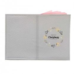"Обложка на паспорт с принтом ""Mery Christmas"""