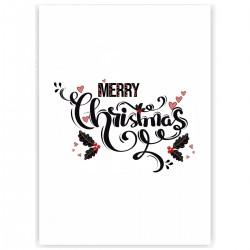 "Холст с принтом ""Christmas Love"" (30x40 cм)"