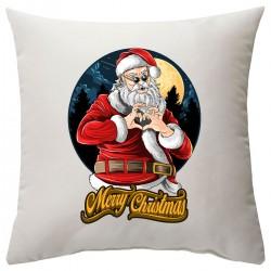 "Подушка с принтом ""Christmas heart"""