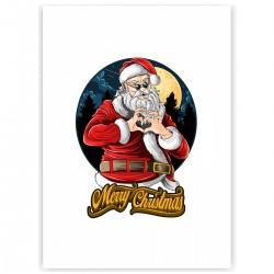 "Холст с принтом ""Christmas heart"" (30x40 cм)"