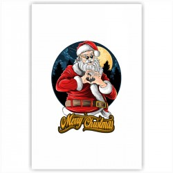 "Холст с принтом ""Christmas heart"" (20x30cм)"