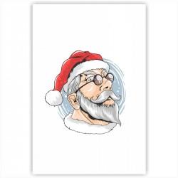 """Холст с принтом """"I am Santa"""" (20x30cм)"""
