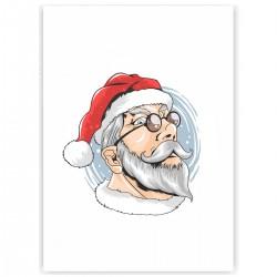 """Холст с принтом """"I am Santa"""" (30x40 cм)"""