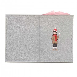 """Обложка на паспорт с принтом """"Hi, Christmas"""""""