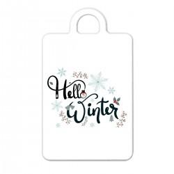 "Брелок с принтом ""Winter hello"""