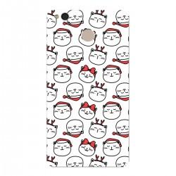 """Чехол для Xiaomi с принтом """"Котики и Рождество"""""""