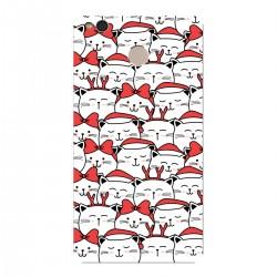 """Чехол для Xiaomi с принтом """"Санта-котики"""""""