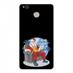 """Чехол для Xiaomi с принтом """"Крутой Санта"""""""