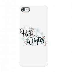 "Чехол для Apple iPhone с принтом ""Winter hello"""