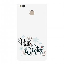 """Чехол для Xiaomi с принтом """"Winter hello"""""""