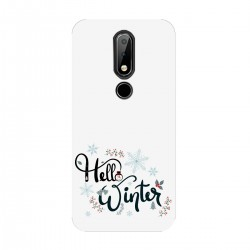 "Чехол для Nokia с принтом ""Winter hello"""