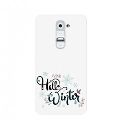 "Чехол для LG с принтом ""Winter hello"""