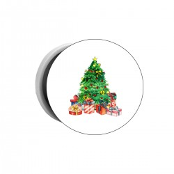 """Попсокет с принтом """"Christmas Spruce """""""