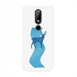 """Чехол для Nokia с принтом """"Голубая река"""""""