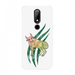"""Чехол для Nokia с принтом """"Зеленый бык"""""""