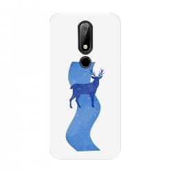 """Чехол для Nokia с принтом """"Синяя река"""""""