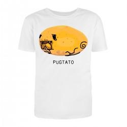 "Футболка с принтом ""Pugtato"""
