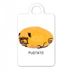 "Брелок с принтом ""Pugtato"""