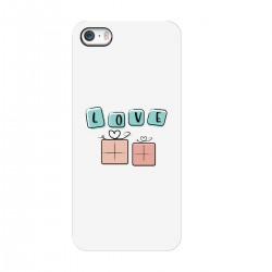 "Чехол для Apple iPhone с принтом ""Love-love"""
