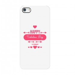 """Чехол для Apple iPhone с принтом """"Любовное поздравление"""""""