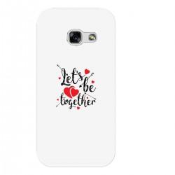 """Чехол для Samsung с принтом """"Lets be together"""""""