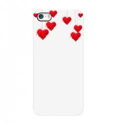 """Чехол для Apple iPhone с принтом """"Милые сердечки"""""""
