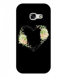 """Чехол для Samsung с принтом """"Цветочное сердце"""""""