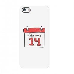 """Чехол для Apple iPhone с принтом """"Любовный календарь"""""""
