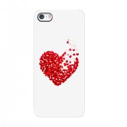 """Чехол для Apple iPhone с принтом """"Лепестки сердца"""""""