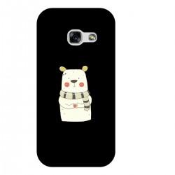 """Чехол для Samsung с принтом """"Мишка с сердечком"""""""
