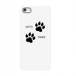 """Чехол для Apple iPhone с принтом """"Кошачьи лапки"""""""