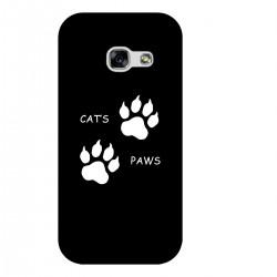 """Чехол для Samsung с принтом """"Cats Paws"""""""